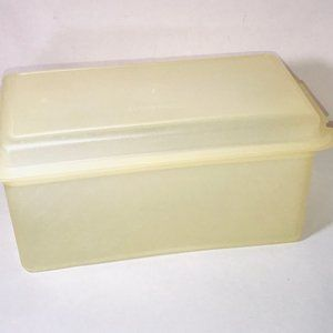 Tupperware Loaf Cake, Bread Box, Cookie, Server